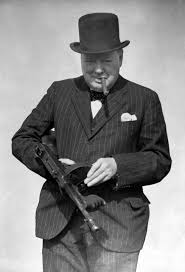 churchill as gangster
